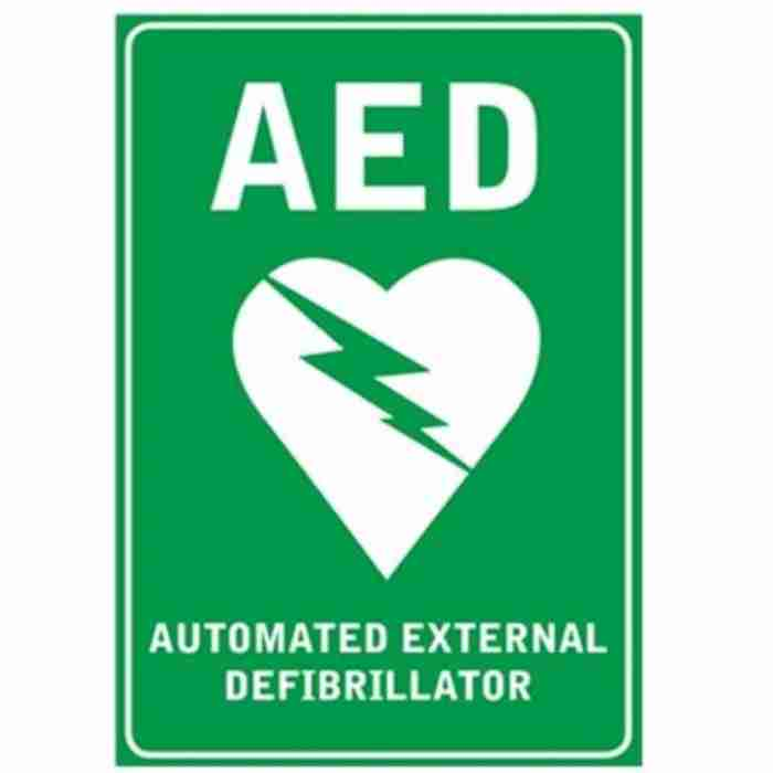 AED Signage