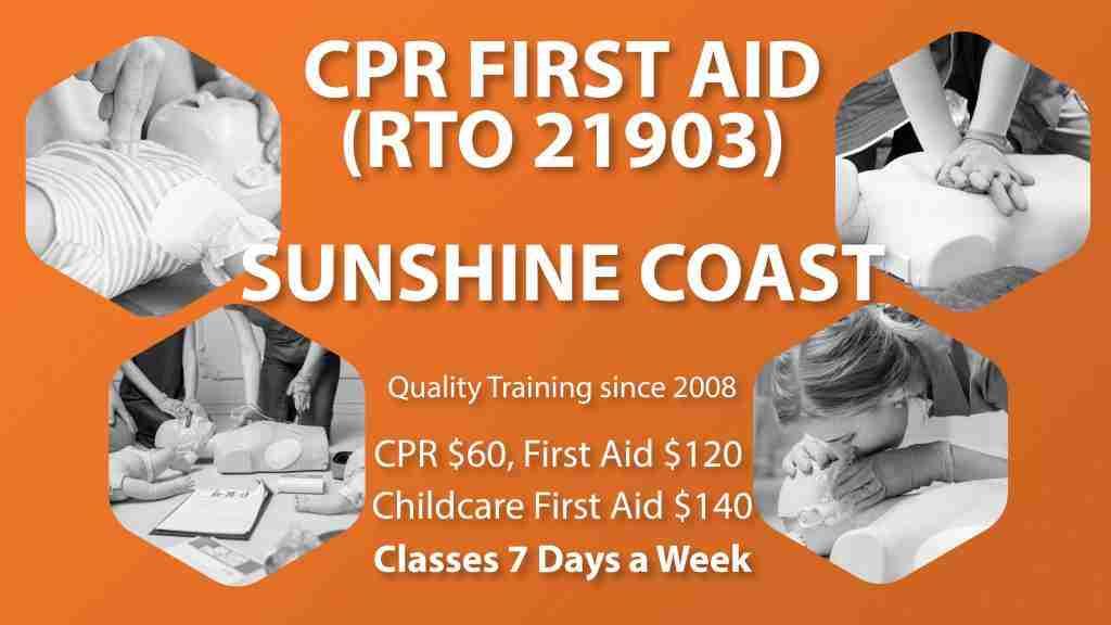 First Aid Course Sunshine Coast