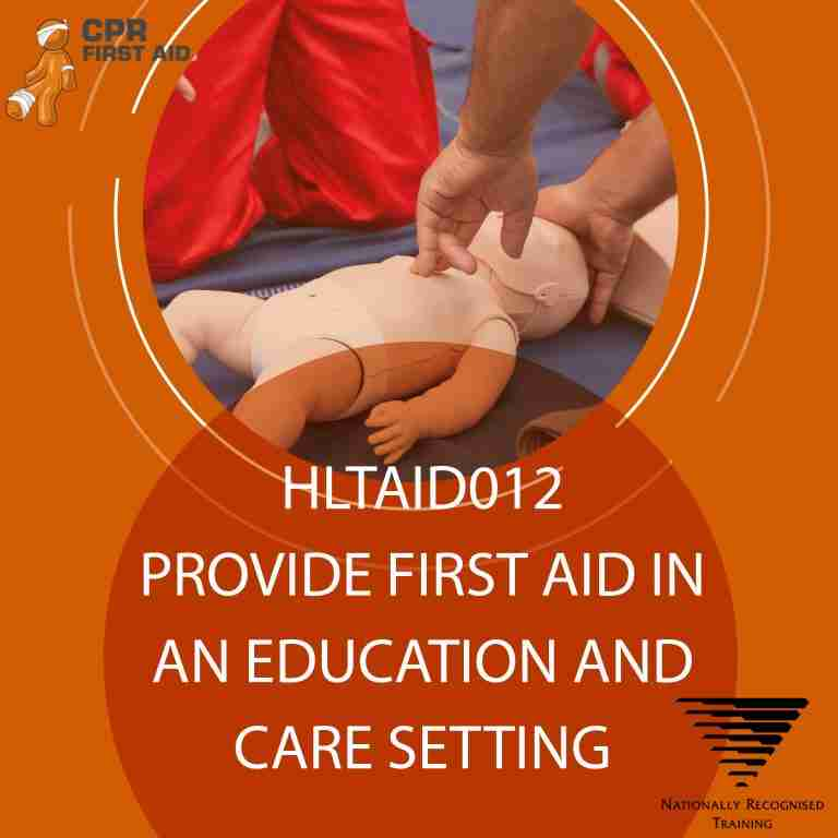 hltaid012 express refresher childcare first aid course