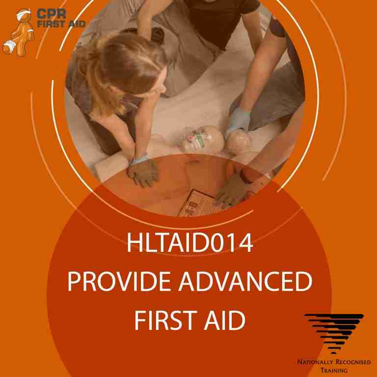 hltaid014 advance first aid course